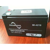 Bateria Recargable Sellada 12v 9ah 15x6.5x10cm Datashield