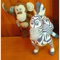 Madagascar - Muñecos De Felpa De La Película Madagascar