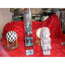 Figura De Vidrio Tipo Prehispanica