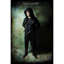 Capucha Gabardina Doctor Frankenstein Gotico Brujeria