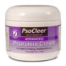 Crema Psoriasis. Psocleer Fórmula Avanzada Con Ácido Salicíl
