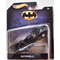 Batimovil Batman 1989 Movie Esc 1:50 Hot Wheels 2016