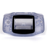 Carcasa Completa Clear Purple De Gba Gameboy Advance Retro