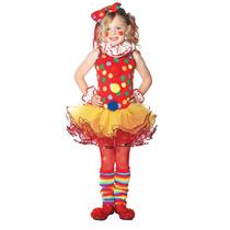 Disfraz De Payasa, Payasita De Circo Para Niñas Envio Gratis