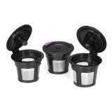 Cápsulas Reutilizables Para Café 3 Uds. P/keurig 2.0 Y 1.0