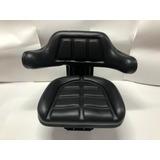 Asiento Universal Para Tractor Color Negro Con Codera