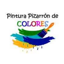 Pintura Pizarrón De Colores Manualidades Mdf Vintage Pared