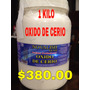 1 Kilo Oxido De Cerio Novalish. Para Pulir Cristales. Wow.