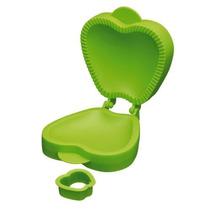 Pie De Moldes - Green Apple En Forma De Rotación De Plásti