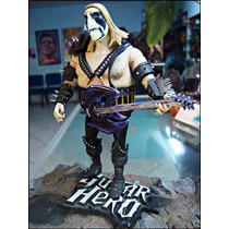 Guitar Hero Figura Loose Con Base,14 Cm,neca ,no Mcfarlane