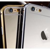 Metal Case Lujo Transparente Aluminio Apple Iphone 6 6 Plus