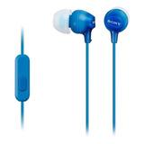 Audífonos Sony Mdr-ex14ap Blue