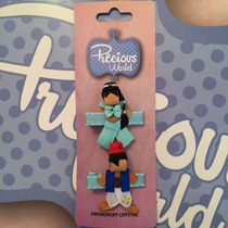 Broche De Princesa Liston. Jazmin Y Aladin.