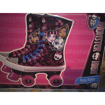 Monster High -patines Originales- Para Niña (usados)