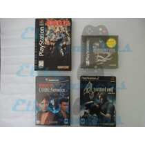Paquete Juegos Resident Evil Long Box, 2, 4, Code Veronica