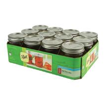 Mason Jar Ball De 16 Oz. Caja 12 Frascos Envasar O Bebidas