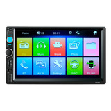 Autoestéreo Touch Pantalla 2din Bt / Aux / Usb/ Mirror Link