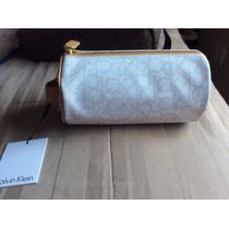 «o. Luxuss» Cosmetiquera Calvin Klein Ck Original Nueva