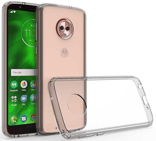 a90ed075666 Funda Motorola G6 Play & E5 Crystal Case + Cristal Templado en venta en  Real Del Sol Tecámac Estado De México por sólo $ 209,00 - CompraMais.net  Mexico