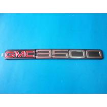 Emblema Gmc 3500 Camioneta Original Unica Pieza
