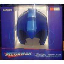Casco Replica Oficial De Megaman (mega Man) Nuevo!