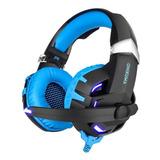 Audífonos Onikuma K2 Black Y Blue