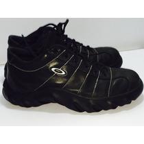 Oakley Zapato Piel Genuina Del 9.5 Méx 11.5 Usa A Un 80% Vid