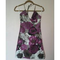 Limpia De Closet - Vestidos H&m Estampados, Negro Xs/m