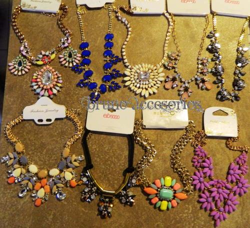 f58be3d8edc5 Catálogo Collares Maxi Mayoreo Moda Bisutería 10 De Mayo. Precio    25 Ver  en MercadoLibre