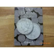 Album Coleccionador De Peace Dollar 1921 - 1935