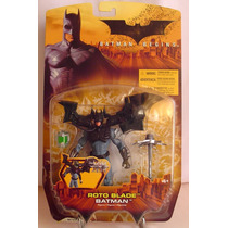 Batman Begins Roto Blade 2005 Mattel Nuevo Sellado 15 Cm