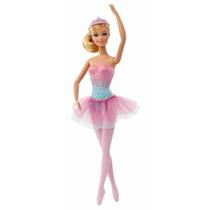 Barbie Bailarina Cuento De Hadas Mágico Bcp12 - Rosa