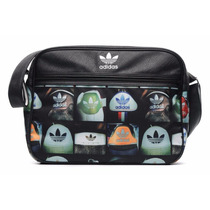 Adidas Originals Airliner Heel Messenger Mochila Super Star