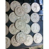 Monedas De Un Peso Plata Morelos Ley 100 De 1957 A 1967