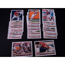 Nfl Chiefs Fan_17tarjetas Set Team-no Repetidas Ud92