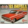 Impala Ss 409 1961 Lindberg 1/25 Modelo Nuevo Caja Sellada