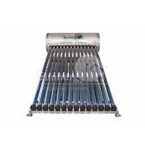 Calentador Solar 165 Litros 14 Tubos Acero Inoxidable