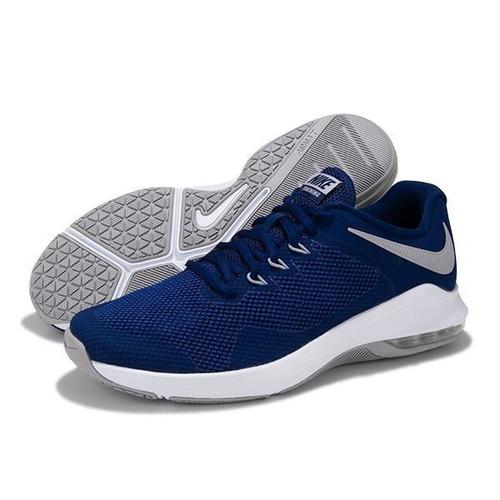 773a85ea11 Tenis Nike Air Max Alpha Azules Hombre Originales A Meses