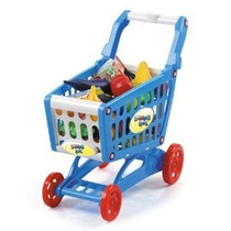 19 Mini Carro De Compras Con Full Grocery Toy Playset Alime