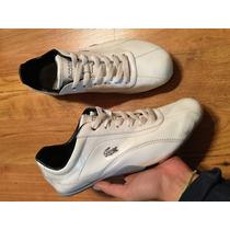 Preciosos Tenis Lacoste Patent Leather Blancos 2016!!