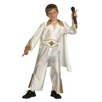 Elvis Traje - Niños Kid Rey Del Rock Vestido De Lujo Medio