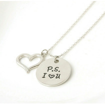 Collar Amor Te Amo Unisex P.s. I Love You Mujer Hombre