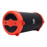 Bocina Select Sound Bazooka Bt228 Portátil Inalámbrica Rojo