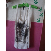 Playera Top Bershka Rockstar
