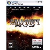 Call Of Duty Mundial En La Edición De Coleccionista Guerra -