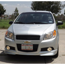 Spoiler Aleron Delantero Para Chevrolet Aveo