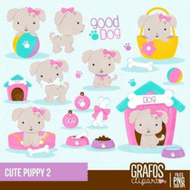 Kit Imprimible Perros 13 Imagenes Clipart