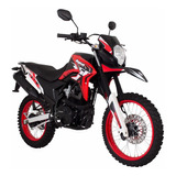 Moto Italika Dm 150 Rojo