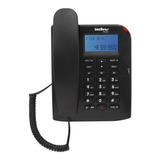 Teléfono Fijo Intelbras Tc 60 Id Negro
