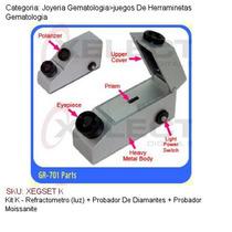 Kit K - Refractometro (luz) + Probador De Diamantes + Probad